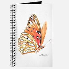 fritillary in flight Journal