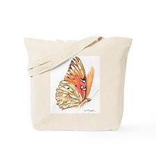fritillary in flight Tote Bag