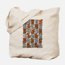 Morse Code A to Z Tote Bag
