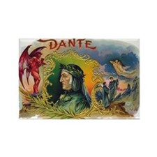 Dante's Inferno Rectangle Magnet $4.99