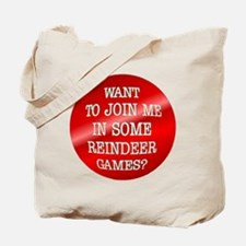 Reindeer Games Tote Bag