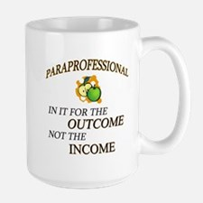 In it for the outcome copy Mugs