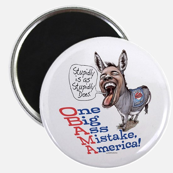 Stupidly Anti Obama Magnet