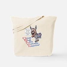 Stupidly Anti Obama Tote Bag