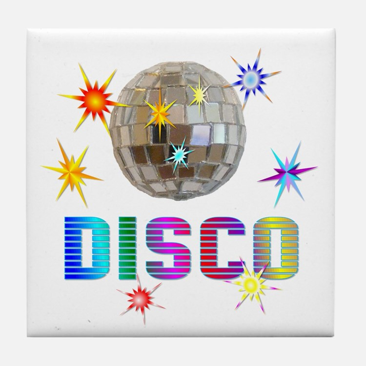 Disco Tile Coaster