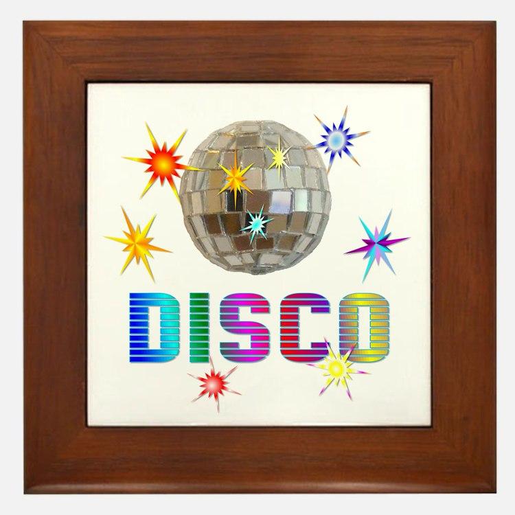 Disco Framed Tile