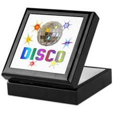 Disco Keepsake Box