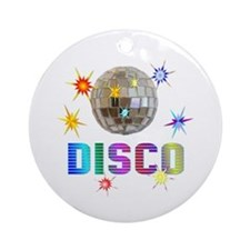 Disco Ornament (Round)