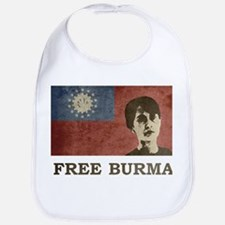 Free Burma Bib