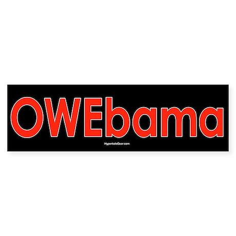 OWEbama Bumper Sticker