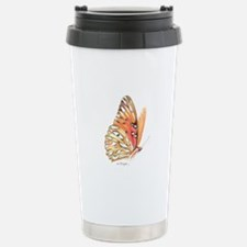 fritillary in flight Travel Mug