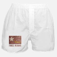 Free Burma Boxer Shorts