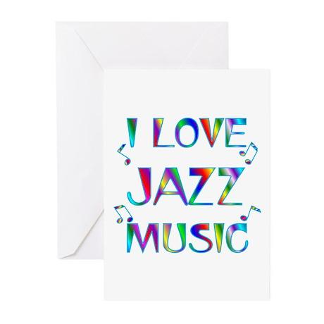 Jazz Greeting Cards (Pk of 20)