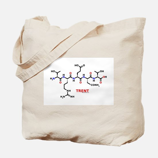 Trent name molecule Tote Bag