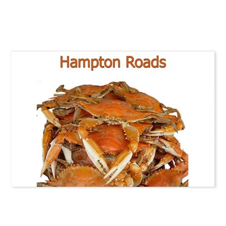 Hampton Roads Crabs Postcards (Package of 8)