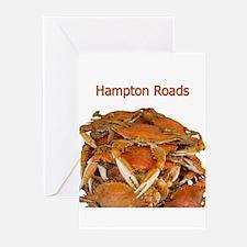 Hampton Roads Crabs Greeting Cards (Pk of 20)