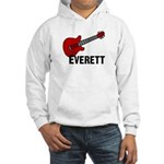 Guitar - Everett Hooded Sweatshirt