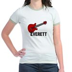 Guitar - Everett Jr. Ringer T-Shirt