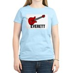 Guitar - Everett Women's Light T-Shirt