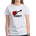 Guitar - Everett Women's T-Shirt