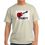 Guitar - Everett Light T-Shirt
