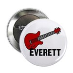 "Guitar - Everett 2.25"" Button"