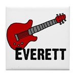 Guitar - Everett Tile Coaster