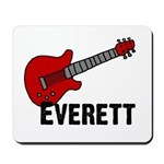 Guitar - Everett Mousepad