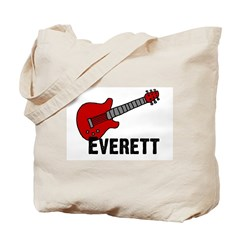 Guitar - Everett Tote Bag