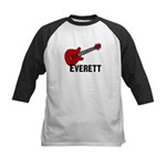 Guitar - Everett Kids Baseball Jersey