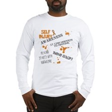 Self Injury Awareness Long Sleeve T-Shirt