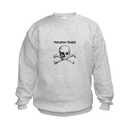 Hampton Roads Pirate Kids Sweatshirt