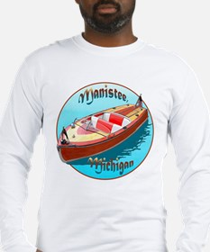The Manistee, Michigan Long Sleeve T-Shirt