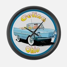 The Celina, Ohio Large Wall Clock
