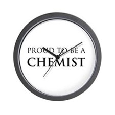 Proud Chemist Wall Clock