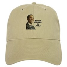 Obama in 2012 Baseball Cap