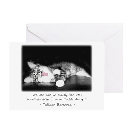 Conceited Cat-And-Quote Greeting Cards (Package of