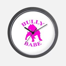 Bully Babe Wall Clock