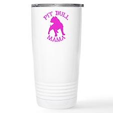 Pitbull Mama Solid Travel Mug