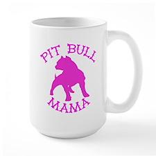 Pitbull Mama Solid Mug