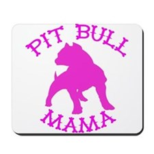 Pitbull Mama Solid Mousepad
