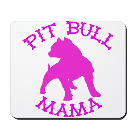 Pitbull Mama Solid Mousepad