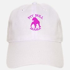 Pitbull Mama Solid Baseball Baseball Cap