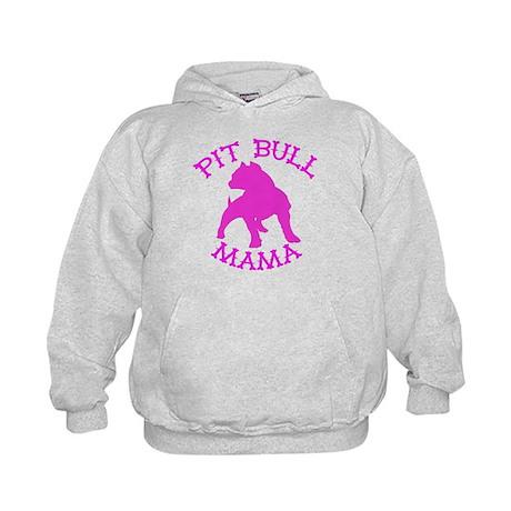 Pitbull Mama Solid Kids Hoodie