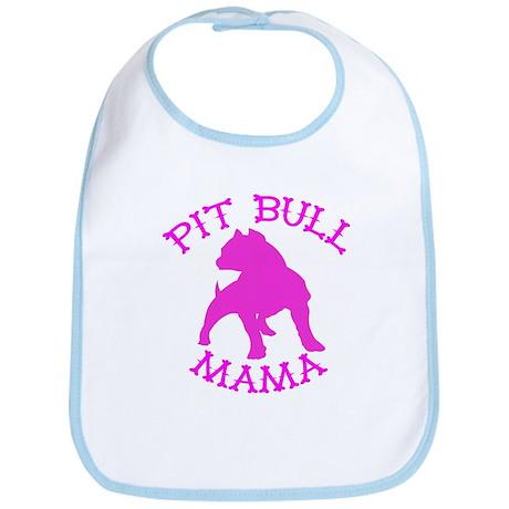 Pitbull Mama Solid Bib