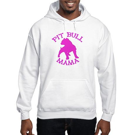 Pitbull Mama Solid Hooded Sweatshirt