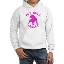 Pitbull Mama Solid Hoodie