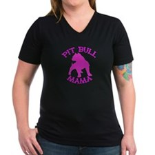 Pitbull Mama Solid Shirt