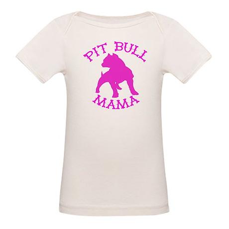 Pitbull Mama Solid Organic Baby T-Shirt