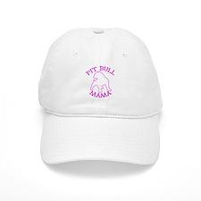 Pit Bull Mama Baseball Cap